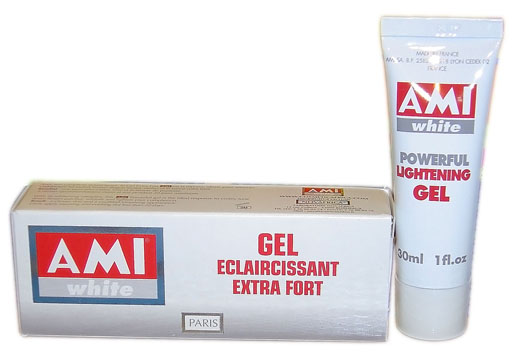 Ami White Gel Eclaircissant Extra Fort 30ml