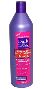 Dark and Lovely Shampoo 3 en1 Soin Cheveux Nourrissant 250 ml