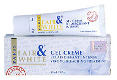 Fair and White gel creme eclaircissant 30 g
