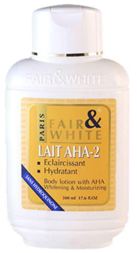 Fair and White lait eclaircissant AHA-2 500 ml