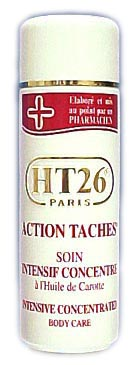 HT 26 lait action taches carotte soin du corps 500 ml