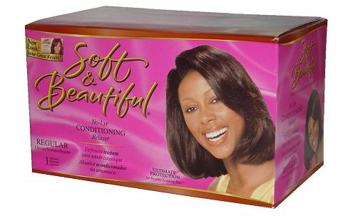 Soft and Beautiful Kit Defrisant Regular
